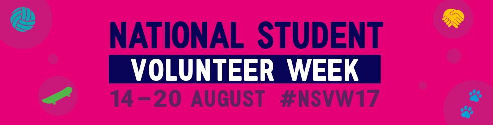 National Student Volunteering Week 2017
